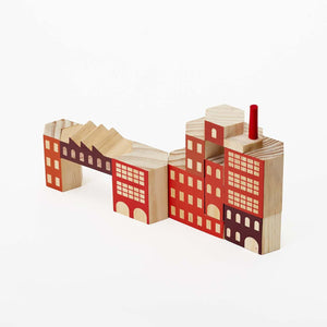 Blockitecture Factory Building Block Set