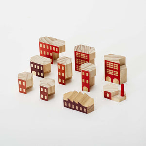 Blockitecture Factory Building Block Set Pieces