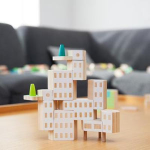 Blockitecture Tiny Garden Building Blocks Set