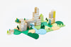 Blockitecture Building Blocks Combination Bundle Set