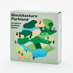 Blockitecture Parkland Building Block Set Product Box Cover