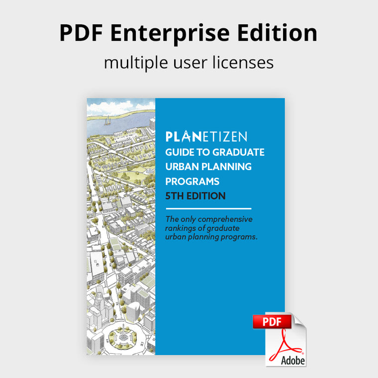 Guide to Graduate Urban Planning Programs - 5th Edition Enterprise PDF