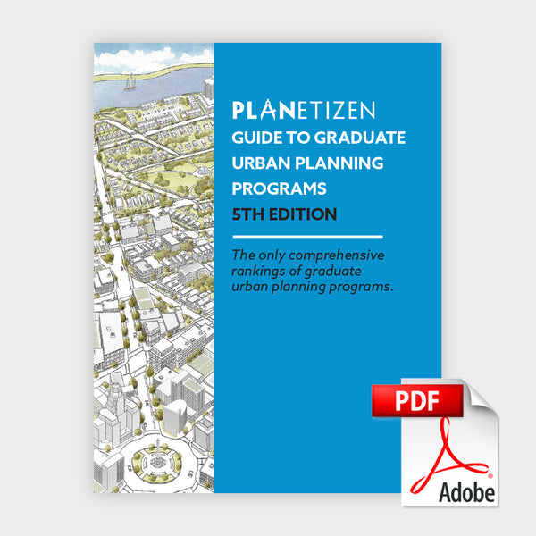 guide to graduate urban planning programs tagged pdf planetizen