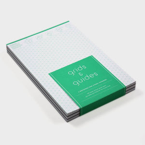 Grids and Guides 3 Notepad Set