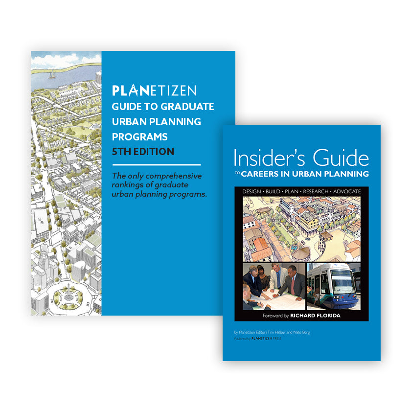 Guide to Graduate Urban Planning Programs 5th Edition and Insider's Guide to Urban Planning Bundle