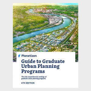 Guide to Graduate Urban Planning Programs - 6th Edition Print Cover