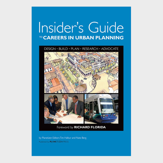 Insider's Guide to Careers in Urban Planning Cover