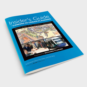 Insider's Guide to Careers in Urban Planning Cover on Table