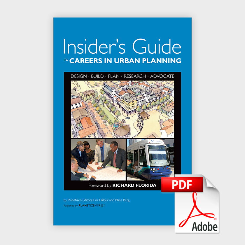 Insider's Guide to Careers in Urban Planning - PDF