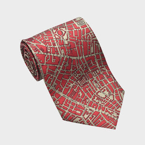 City Necktie London Red