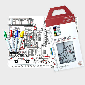 Mark-mat New York City Mat, Box and Pens