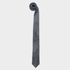 Boston City Map Necktie Gray