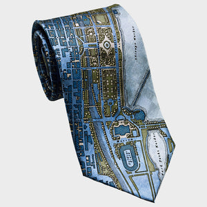 City Necktie Chicago Blue