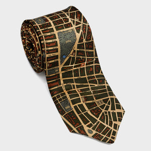 City Necktie New York City Olive
