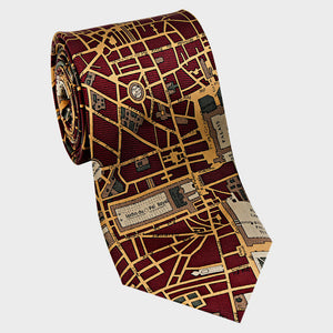 City Necktie Paris Red