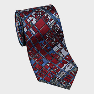 City Necktie Philadelphia Red