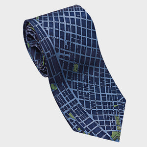 City Necktie San Francisco Blue
