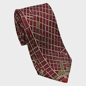 City Necktie San Francisco Red