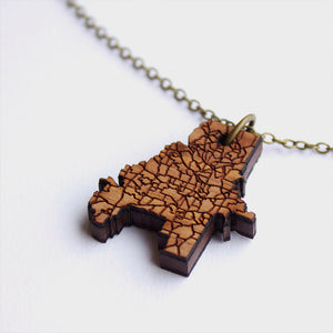 Atlanta City Necklace Pendant Charm