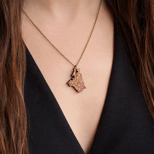 Portland City Necklace Pendant Charm