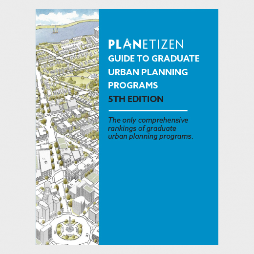 Guide to Graduate Urban Planning Programs 5th Edition Print Cover
