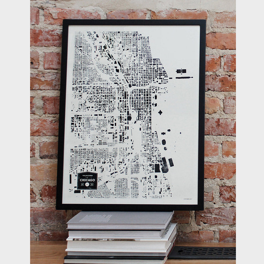 City Poster - Chicago - Planetizen Store