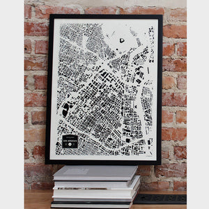 Los Angeles City Map Poster