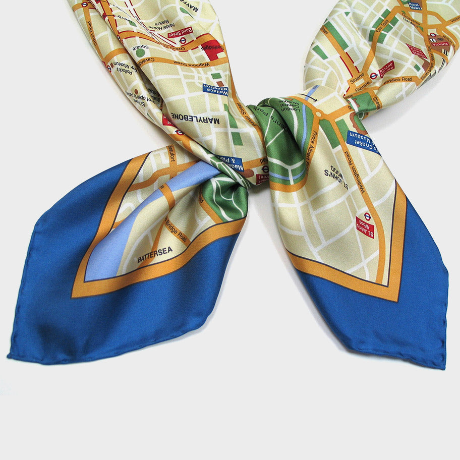 Map Scarf - London