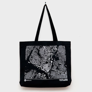 City Map Tote Austin