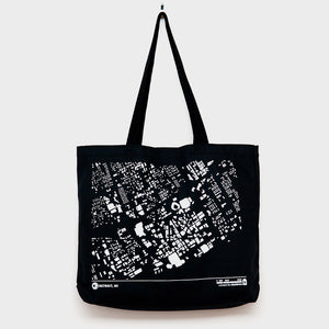 City Map Tote Detriot