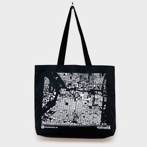 City Map Tote Philadelphia