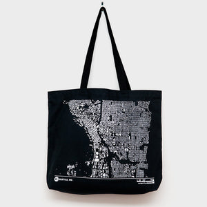 City Map Tote Seattle
