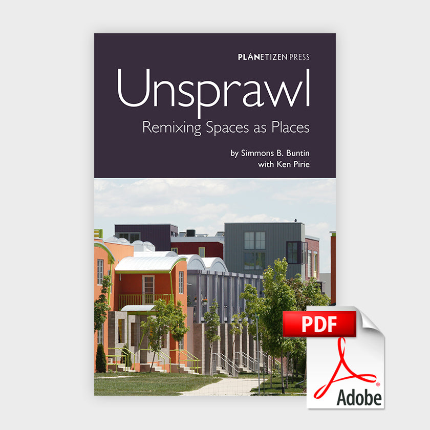 Unsprawl: Remixing Spaces as Places Cover PDF