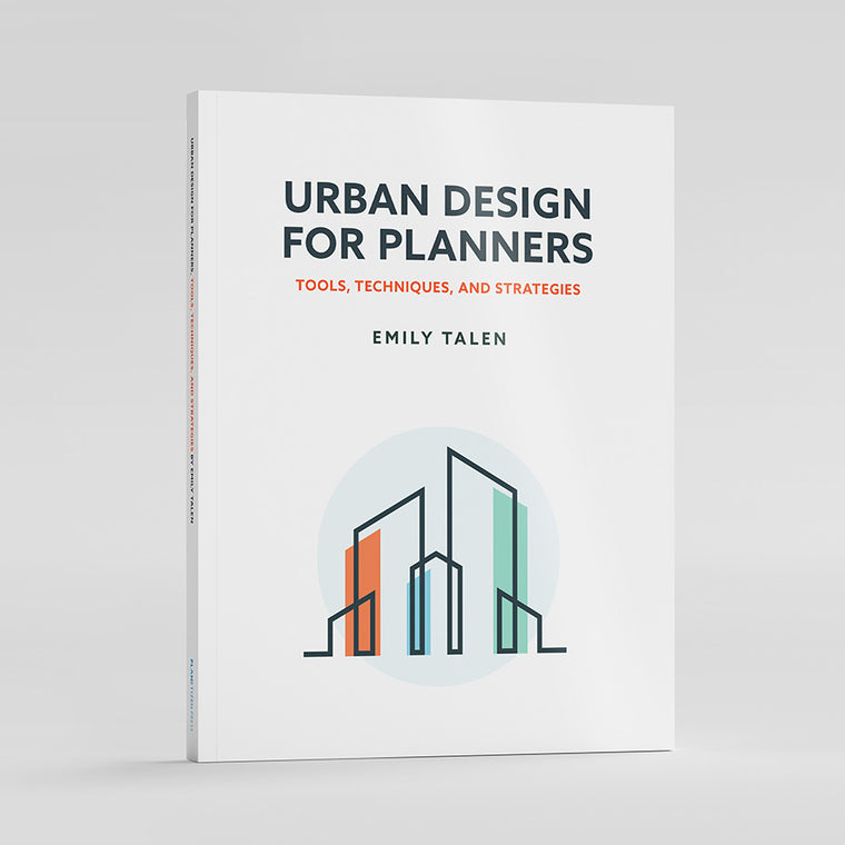 Urban Design for Planners Book Cover