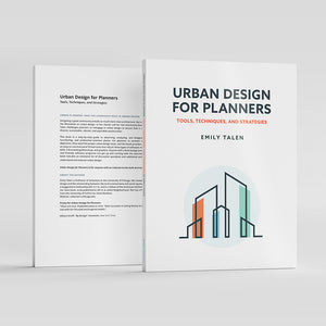 Urban Design for Planners Book Front and Back Cover