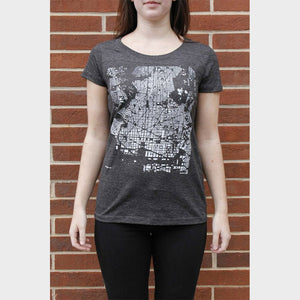 Fitted City T-Shirt on Model Front View