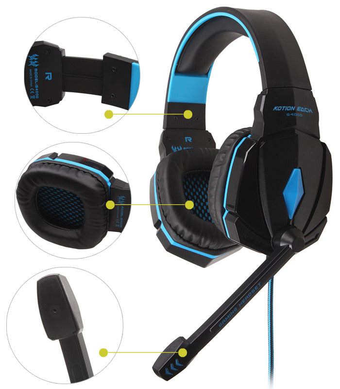 G4000 Pro Gaming Headset Stereo