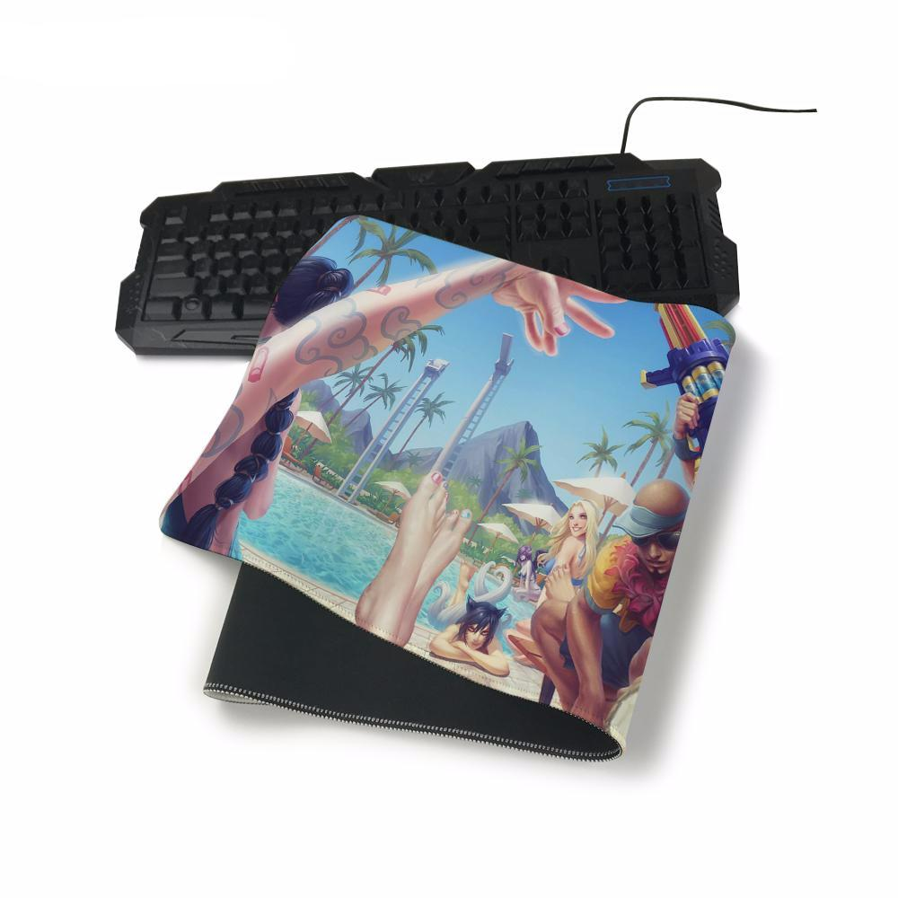 League of Legends Pool Party Mouse Pad