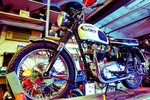 Vintage Motorcycle, Cafe Racer,