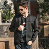 Pioneer Camp 2017 Autumn Casual Jacket Men Space Cotton Winter Jacket For Men Slim Black Brand Jacket Coat Men Outerwear 622015 - Offy'z6