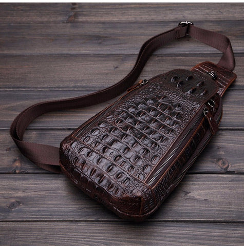 Genuine Vintage Crossbody Leather Bag