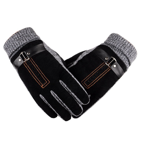 Winter Warm Non-slip Mens Thicken Gloves