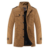 Coffee Cream Thick Jacket - Offy'z6