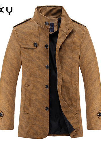 Coffee Cream Thick Jacket