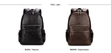 Eloquent Style Leather Backpack - Offy'z6