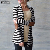 Women's Slim Fit Loose Outerwear - Offy'z6