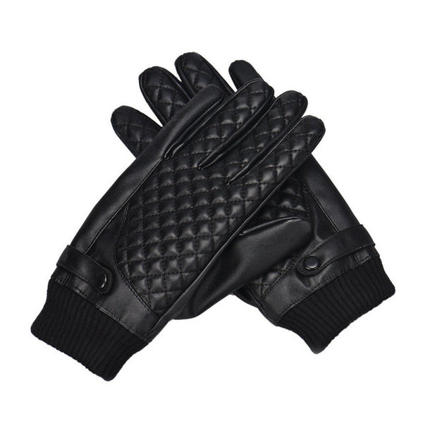 Motorcycle / Sporting Leather Screen Gloves