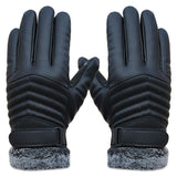Motorcycle / Sporting Leather Screen Gloves - Offy'z6