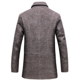Cashmere Long Woolen Coat - Offy'z6