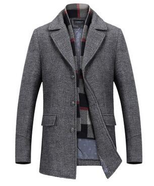 Cashmere Long Woolen Coat